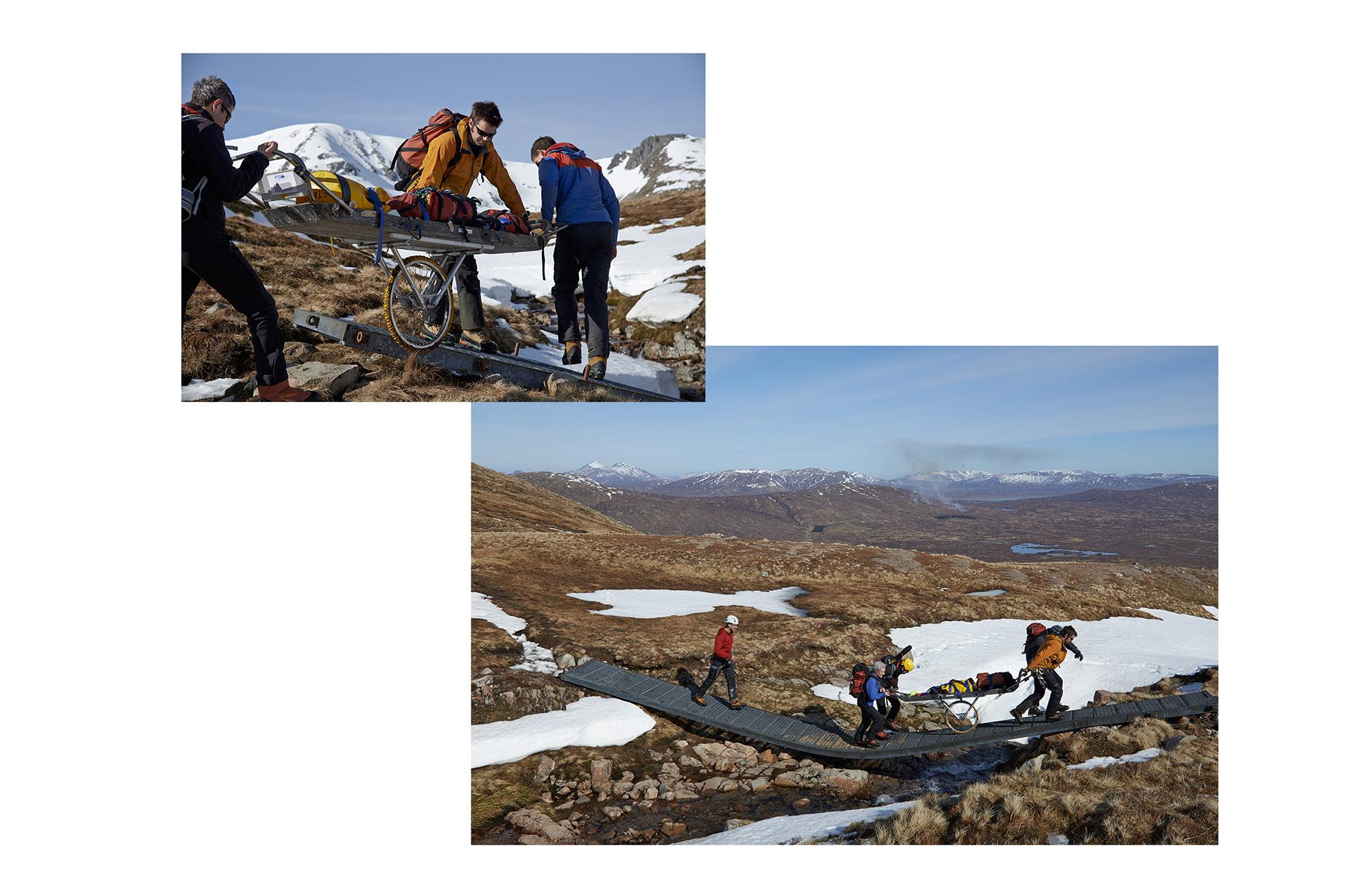 Hole and Corner | Glencoe Rescue Team - 9 of 14