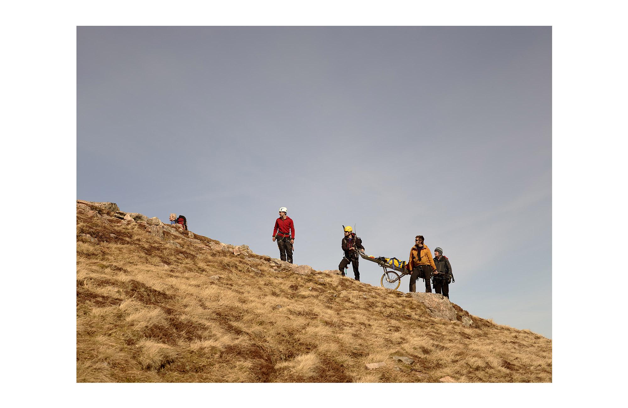Hole and Corner | Glencoe Rescue Team - 1 of 14