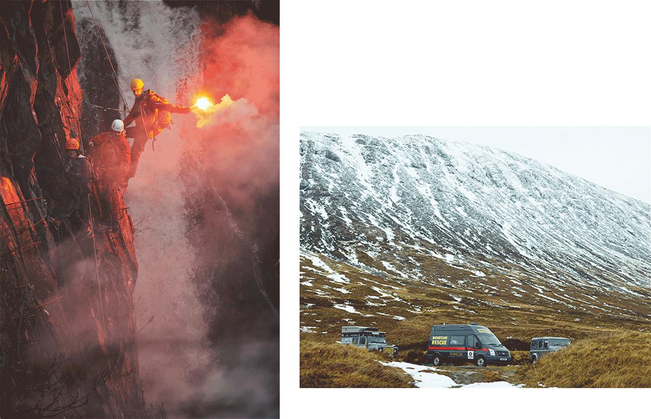 Hole and Corner | Glencoe Rescue Team
