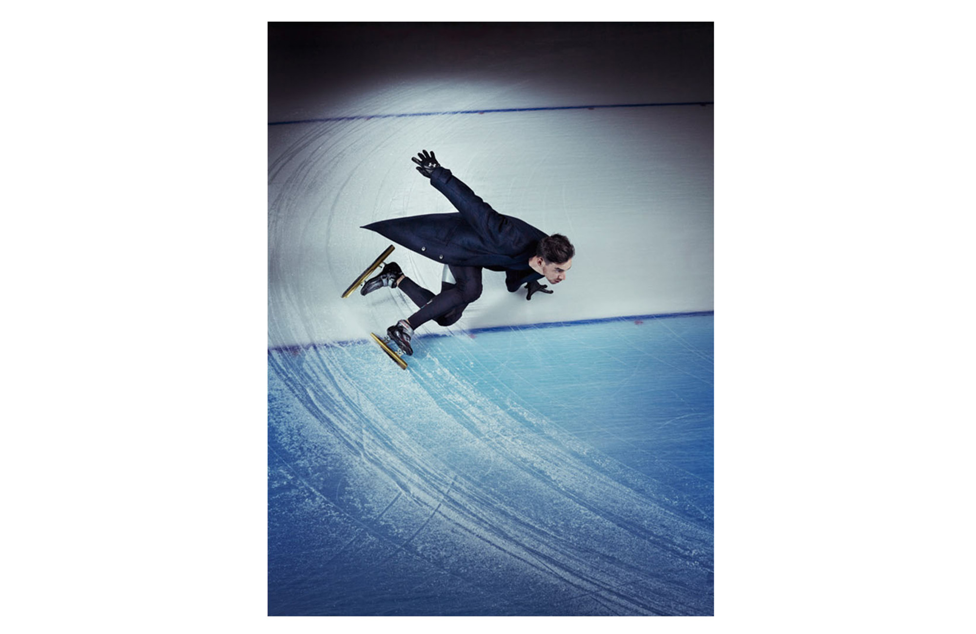 Mens Journal / US Speed Skaters - 1 of 3