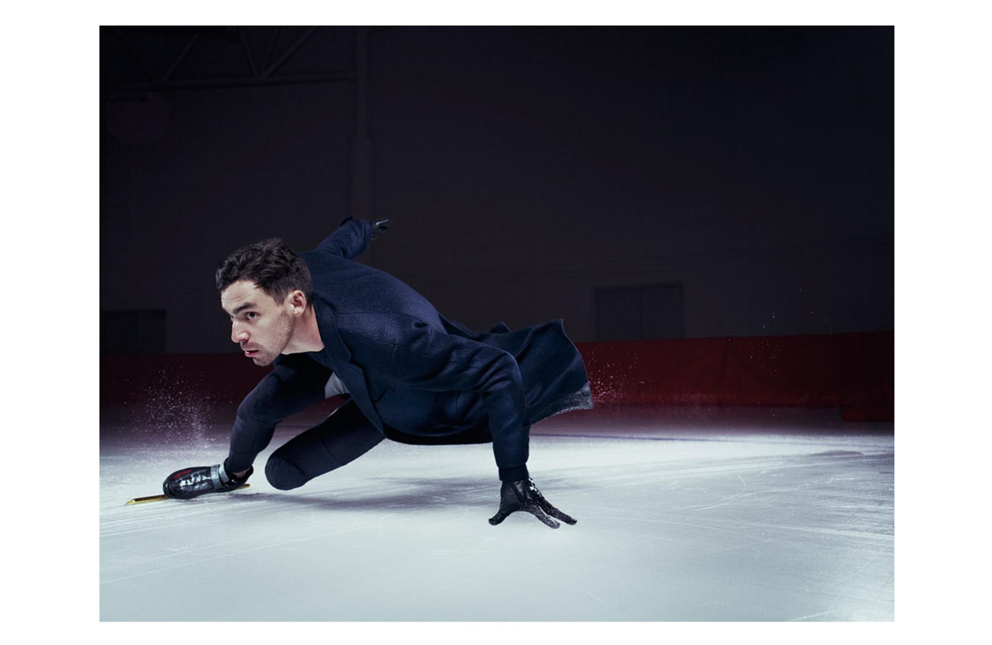 Mens Journal / US Speed Skaters - 2 of 3